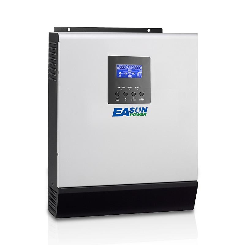 EASUN POWER 110 فولت 120 فولت الطاقة الشمسية المنزلية 12 فولت 24 فولت 48 فولت 1KVA 2KVA 3KVA MPPT Solal خارج الشبكة العاكس