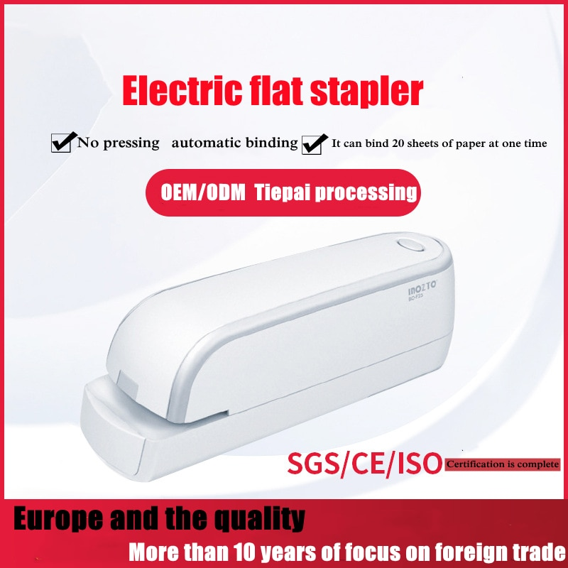 Office Accessories Electric Stapler 24/6 26/6 School Supplies Bookbinding Small Business Supplies