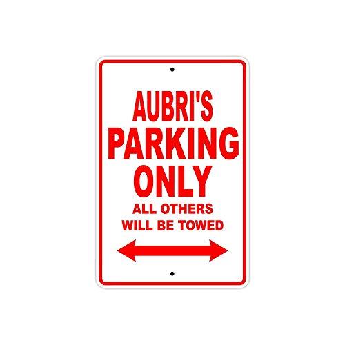 Aubri стоянки только в том случае, все Прочие ожерелья и подвески будет буксируемая название осторожно Предупреждение уведомления Алюминий м...