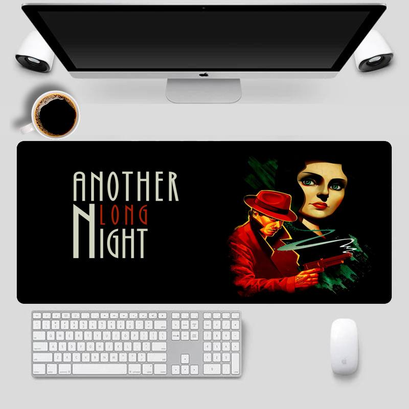 Cartoon BioShock Mouse Pad Gaming MousePad Large Big Mouse Mat Desktop Mat Computer Mouse pad For Overwatch  - buy with discount