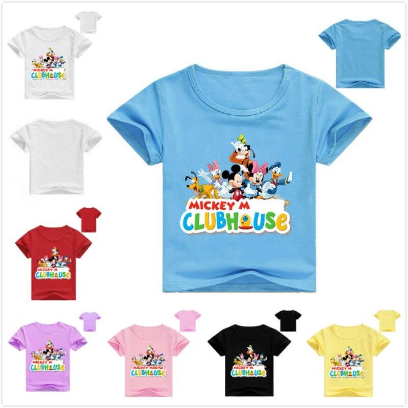 Verano bebé Infante niña niño camiseta Vetement Enfant Fille dibujos animados estampado...
