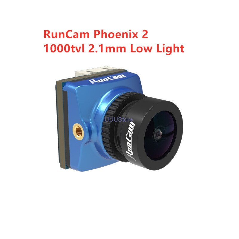 RunCam-Phoenix 2 أداء ممتاز خفيف الوزن ، 1000tvl ، 2.1 مللي متر ، FPV ، كاميرا PAL/NTSC ، مفتاح قابل للتحويل