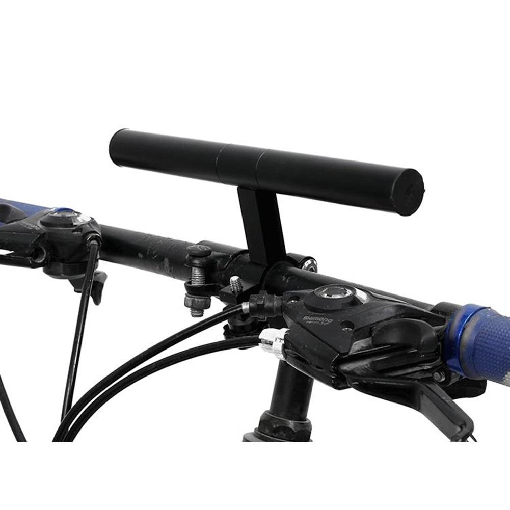 Bicicleta MTB bicicleta mango de linterna Bar soporte de bicicleta accesorios extensor de soporte de montaje excelente mano de obra la vida de servicio larga