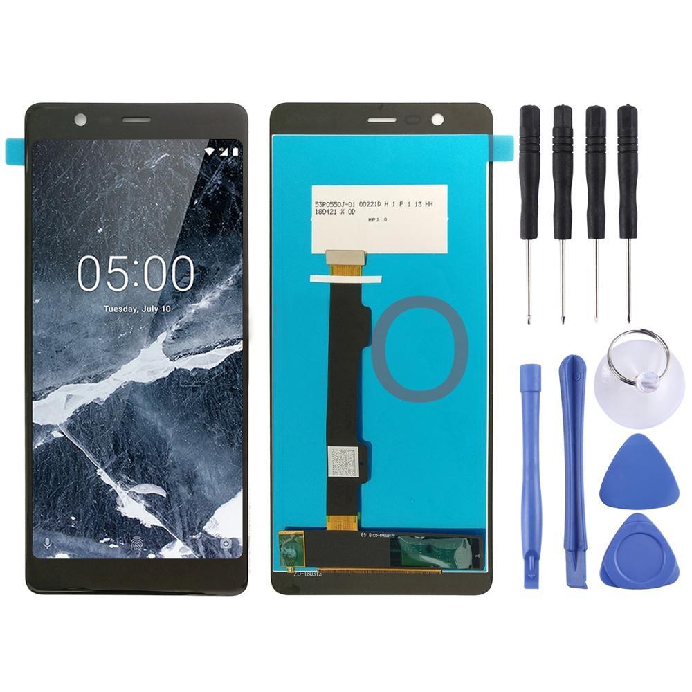 2019 AAA + + + pantalla LCD y digitalizador de la Asamblea para Nokia 5,1 TA 1024, 1027, 1044, 1053, 1008, 1030, 1109