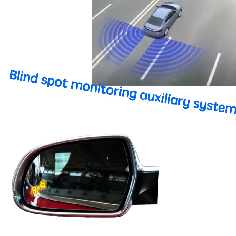 نظام BSD BSM BSA للسيارة نظام الكشف عن الرؤية الخلفية للرادار للسيارة أودي S5 2010 ~ 2016