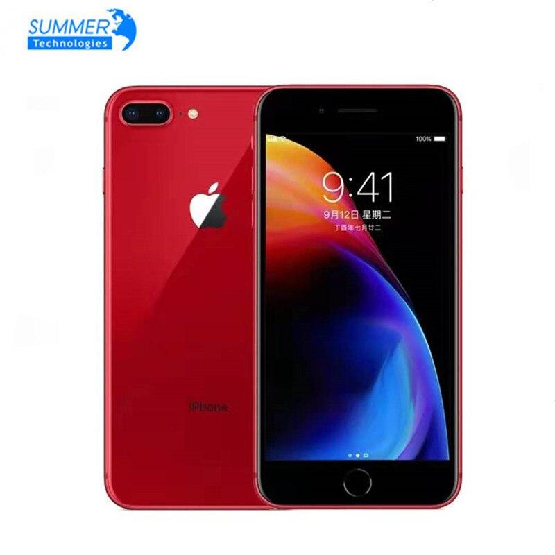 Оригинальный мобильный телефон Apple iPhone 8 Plus, разблокированный, 3 Гб + 64 ГБ, 3 ГБ ОЗУ 64/256 Гб ПЗУ, 5,5 дюйма, 12,0 МП, iOS, сканер отпечатка пальца