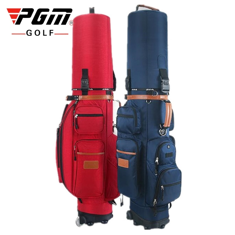 Bolsa de Golf multifuncional estándar Pgm, bolsa de carrito de Golf de alta capacidad, bolsas de Golf para personal con ruedas, bolsa de almacenamiento D0086
