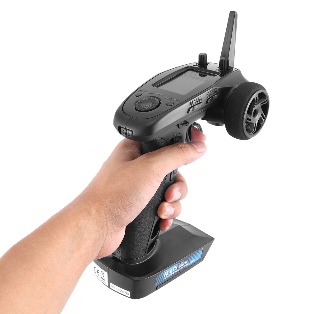 FLYSKY FS-GT5 GT5 2.4G 6CH RC Radio Transmitter With FS-BS6 6CH Receiver For RC Vehicles Crawler Car Boats Tank Toy Racing enlarge