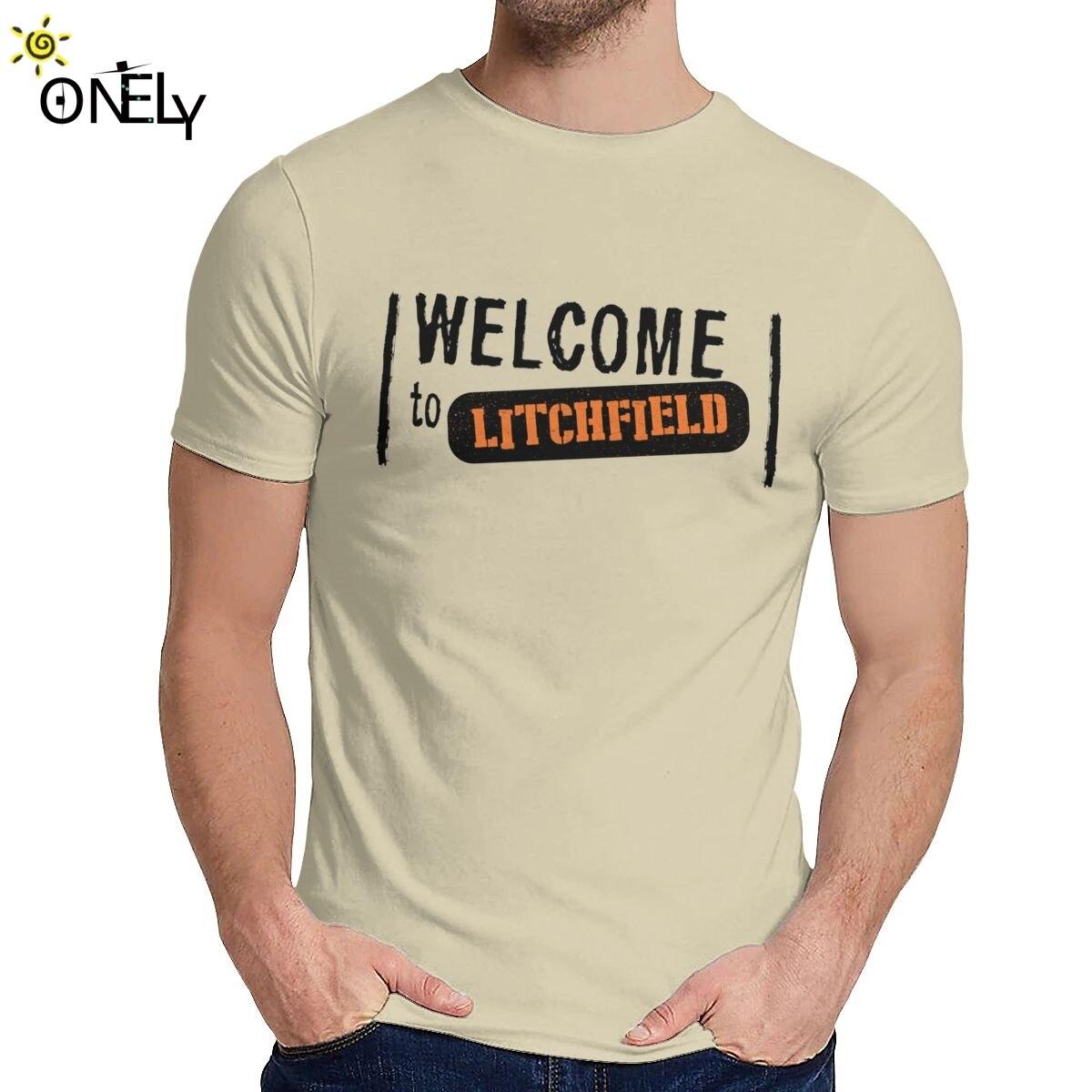Camiseta de verano para hombre, bienvenido a Litchfield Orange Is The New...