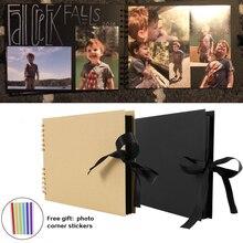 60/80 pagine di Album di Foto Album di Carta FAI DA TE Album di Scrapbooking Album di Foto per Regali di Anniversario di Nozze di Memoria Libri