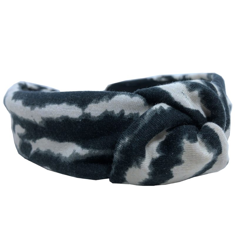 Accesorios para el cabello a la moda para niña, accesorios Sexy de leopardo negro, Bandana de invierno 2020072409