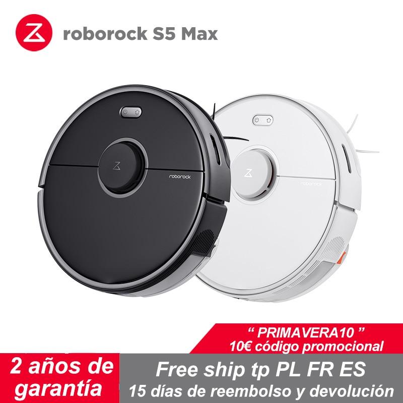 Roborock S5 Version de mise à niveau Max aspirateur Application à domicile utilisation intelligente prévue avec 20000 Pa