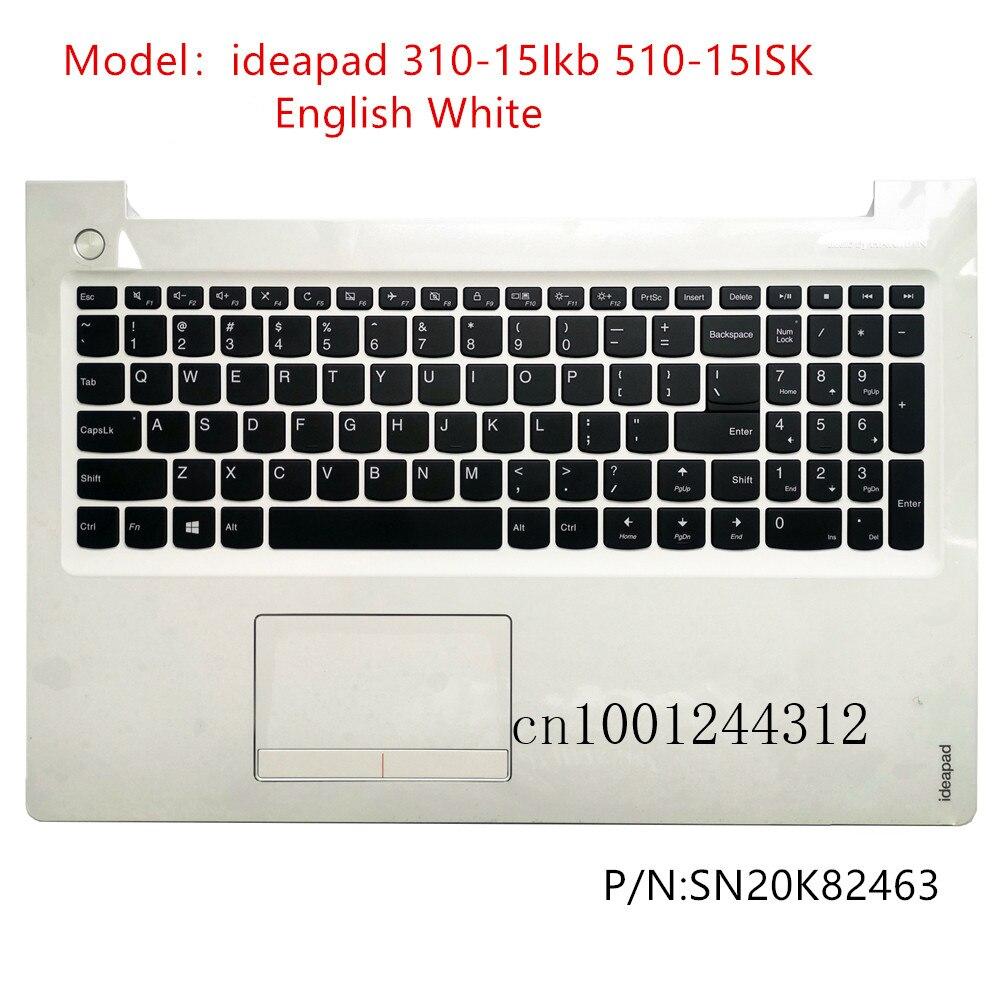 غطاء لوحة مفاتيح بديلة لجهاز Lenovo ideapad 310-15Ikb 510-15ISK ، غطاء علوي ، SN20K82463