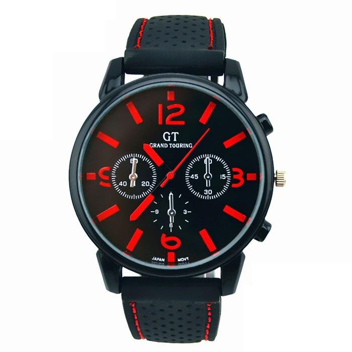 Top Marca de Luxo Mens Relógios Data Masculinos Relógios Esporte Militar Relógio com Pulseira de Couro Homens De Negócios De Quartzo Relógio de presente de Natal # E