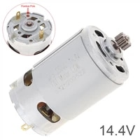 dc motor rs550 14 4v 24500 rpm dc motor with two speed 11 teeth and high torque gear box for cordless charge drill screwdriver