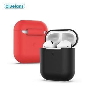 Силиконовые Беспроводной Bluetooth наушники защитная сумка для хранения чехол для AirPods 2 Чехол для наушников-станция для зарядки наушников бума...