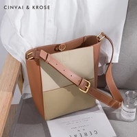 womens crossbody bags genuine leather casual different size bags two pieces set large volume set