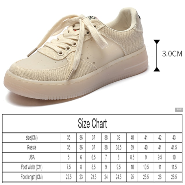 AIYUQI Sneakers Women 2021 Summer New Thick-soled Casual Student Board Shoes Women All-match Hollow Canvas Shoes Women 10