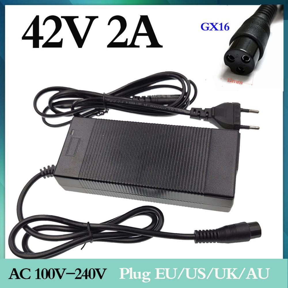 42V 2A charger output 100-240V voltage for 36V lithium battery 10 serise