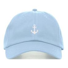Novedad de verano, sombrero de papá de marea, sombreros de golf con bordado de anzuelo de pescado, gorra de béisbol salvaje de algodón ajustable, gorras snapback casuales de hip-hop
