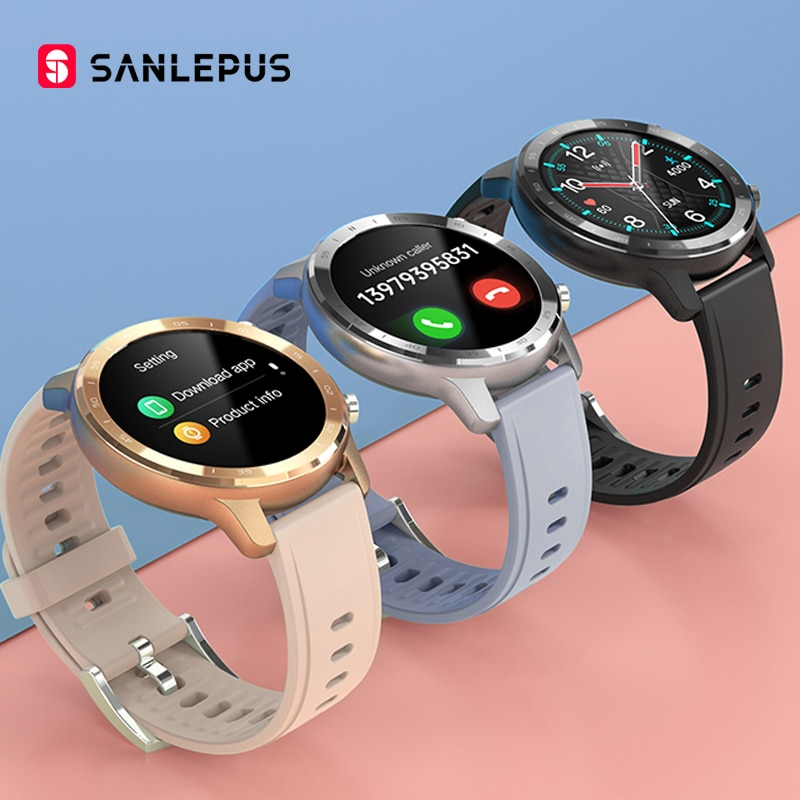 2021 NEW SANLEPUS Smart Watch Men Women IP67 Waterproof Watches Smartwatch Heart Rate Monitor For Android Samsung iPhone Xiaomi