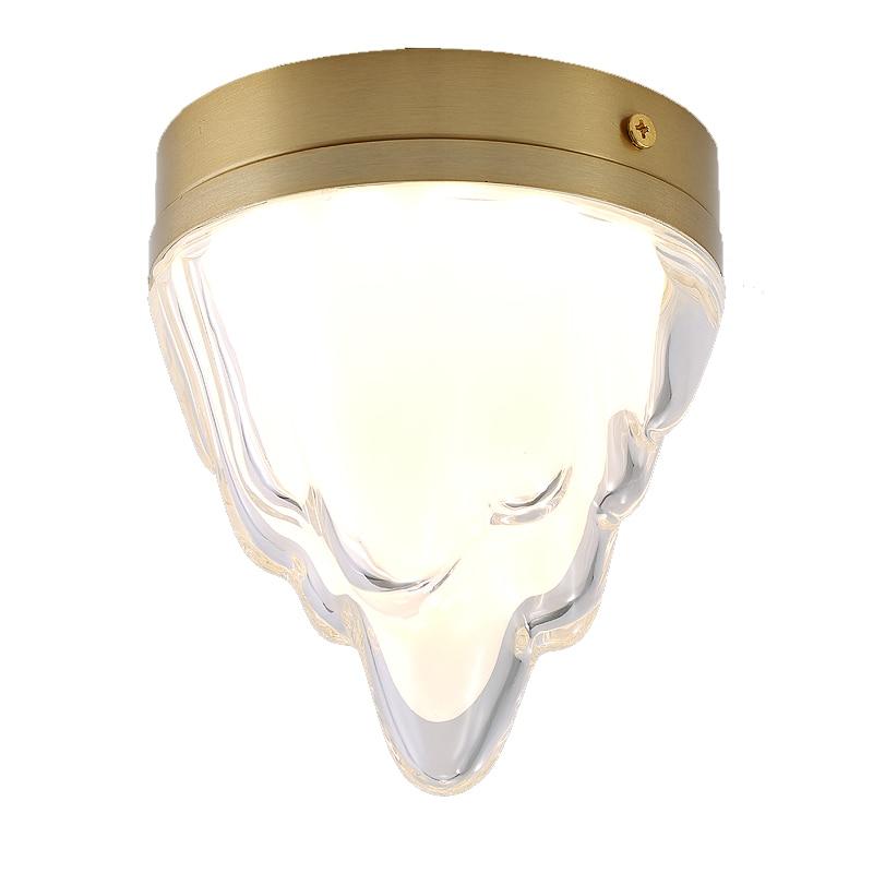 Nordic LED Ceiling Lights Aisle Outdoor Light Fixture Bathroom Lamp Bedroom Living Room Glacier Snow Style Lightings Art Decor