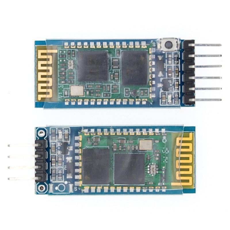 HC-05 HC-06 master-slave 6pin/4pin анти-реверс, интегрированный Bluetooth серийный сквозной модуль, беспроводной последовательный для arduino