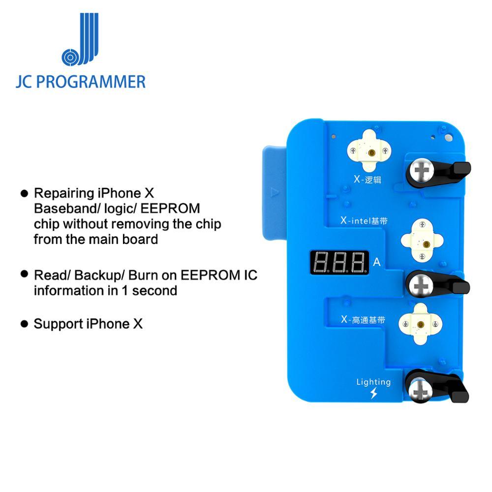 Programador de Chip IC de banda base lógica JC PRO1000S, lectura para iPhone X EEPROM