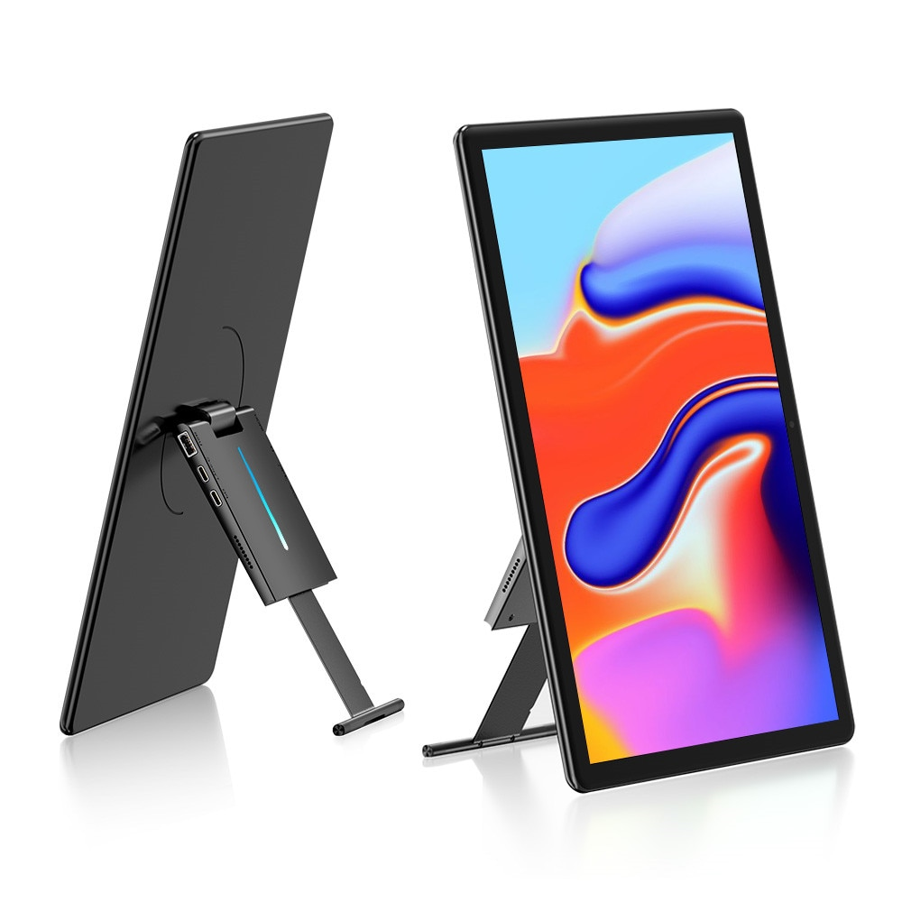【New】UPERFECT TouchScreen 1080P Portable Monitor 15.6inch LCD 300cd/m² brightness Sencond Display for  Samsung DEX Huawei EMUI