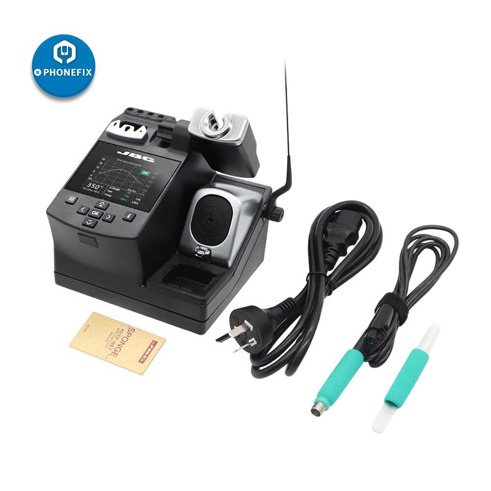 JBC CD-2SH محطة لحام مع مقبض T210-A C210 الحديد نصائح محطة النوم الذكية 220 فولت 110 فولت لإصلاح اللوحة الأم الهاتف