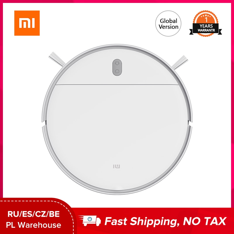 XIAOMI MIJIA Robot Vacuum Cleaner G1 for Home Wet Mopping Auto Sweeping Dust Smart Planned cyclone S