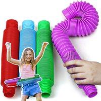 XL поп трубки сенсорные игрушки для детей-аутистов и непосед для детей «Человек-паук», СДВГ, игрушки для детей и игрушки для детей с синдромом...
