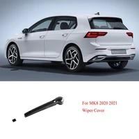 for golf 8 mk8 2020 2021 abs rear wiper arm frame cover trim accessories