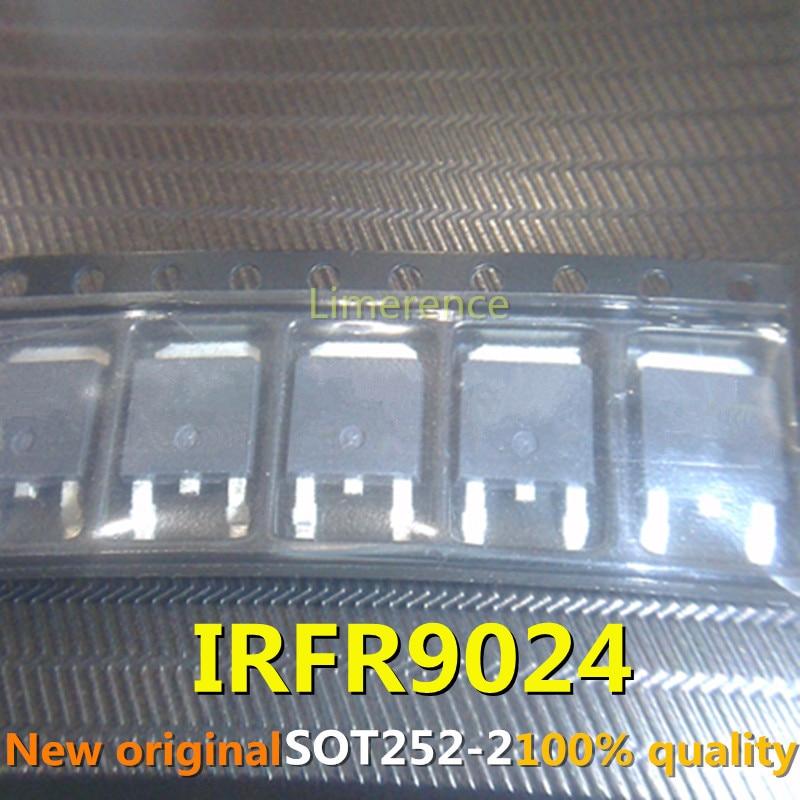 10 pces irfr9024 to-252 fr9024 to252 irfr9024n irfr9024ntrpbf irfr9024ntr suporte que recicla todos os tipos de componentes eletrônicos