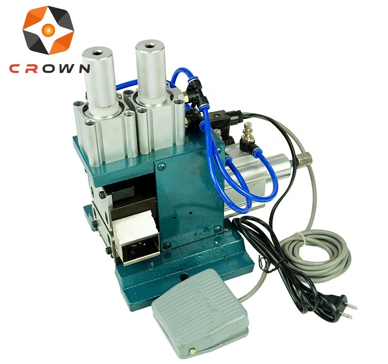 High efficiency pneumatic wire stripping machine electric wire peeling tool enlarge