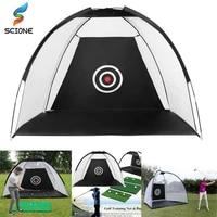 1m 2m golf cage practice net training indoor outdoor sport golf exercise equipment garden trainer portable golf training tent
