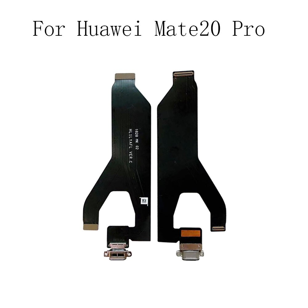 Micro Dock Connector Charger Plug Board For Huawei Mate20 Pro USB Charging Port Flex Cable Replaceme