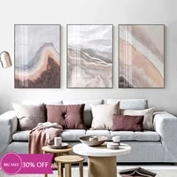 Affiches de peinture sur toile pour decoration de noel  tableau dart mural de bord de mer  de plage  pour salon  decoration de maison