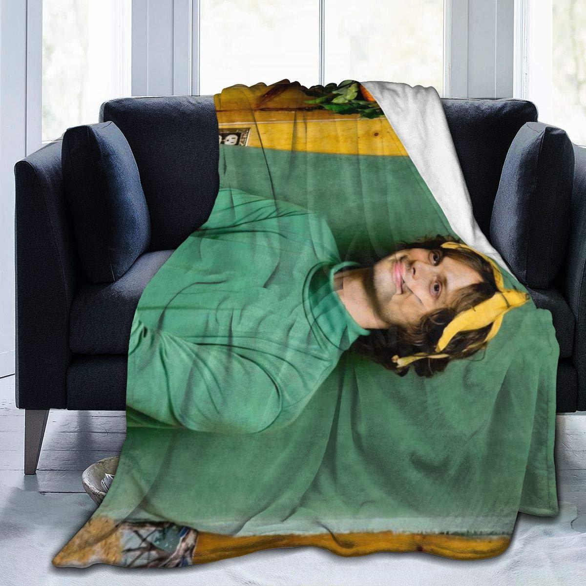 ماثيو-رمادي-جوبلر بطانية صوف ناعمة خفيفة الوزن لينة دافئ دافئ رمي بطانية ديكور المنزل للأريكة ، السرير ، أريكة ، travel 0
