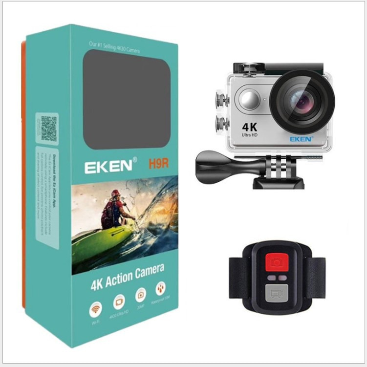H9R كاميرا رياضية 4K مع واي فاي مع جهاز التحكم عن بعد الرياضة DV في الهواء الطلق مقاوم للماء عالية الوضوح المضادة للاهتزاز كاميرا رقمية