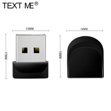 TEXT MICH Super Mini USB Flash Drive Winzigen Usb-Stick 8gb 16gb 32gb 64gb U Stick U disk Memory Stick Usb Stick kleine Geschenk usb stick