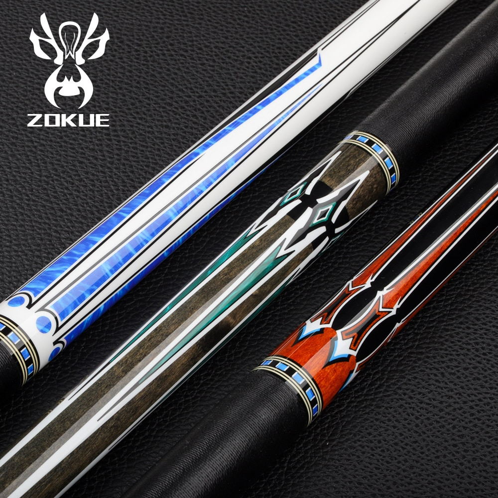 ZOKUE Billiard Cue Stick 160cm 12.75mm Pool Cue Weight Adjustable Radial PinIrish Line Kit Suitable For Tall Mighty People