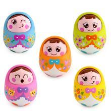 GloryStar Nod Shake Wobbling Tumbler Doll  Educational  Toy for Kids Baby Random Color