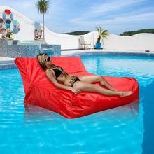 Livraison directe créative paresseux canapé double lit couverture hôtel plié piscine flottant haricot sac couverture pour la fête de natation