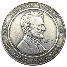 Pièces commémoratives en argent plaqué 25e Dollar US Chicago, 1944