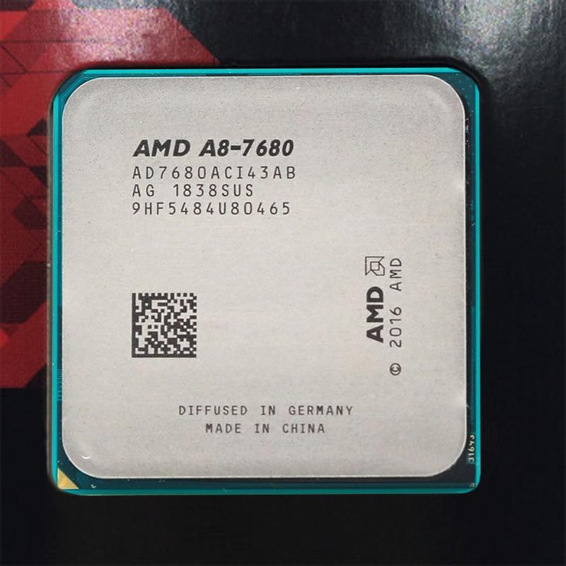 Procesador de CPU de escritorio AMD apau A8-7680 A8 7680 3,5 GHz R7 Quad-Core L2 = 2M 45W DDR3 Socket FM2 + nuevo
