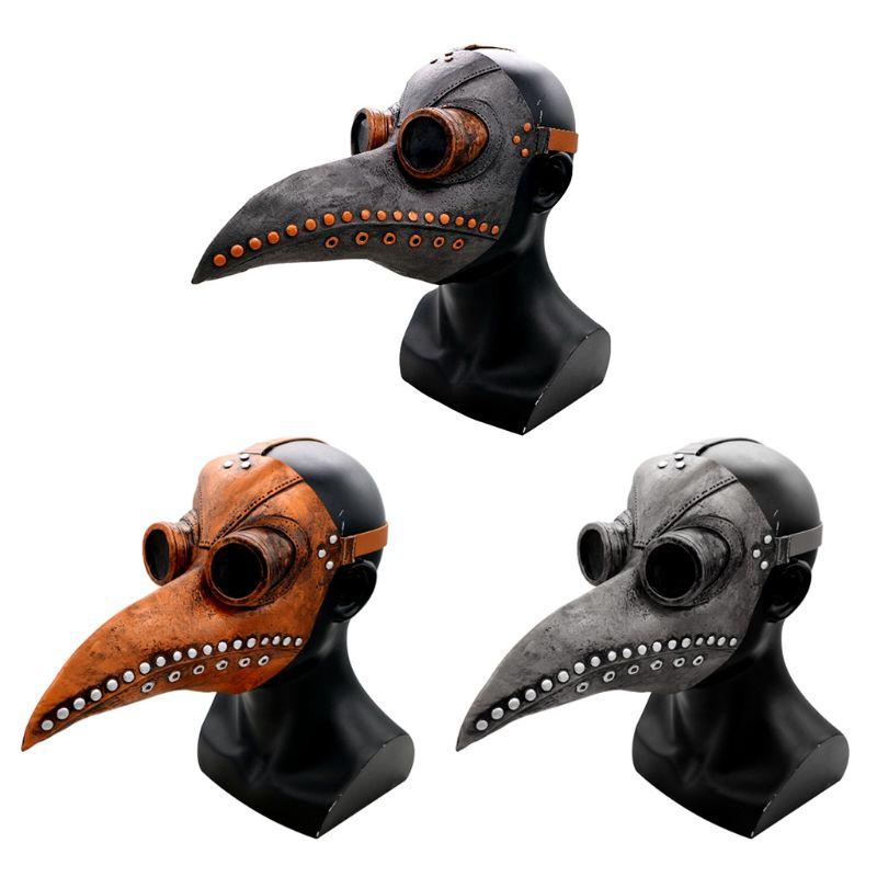 Pássaro De Bico Longo Traje Festa de Máscaras Para O Dia Das Bruxas Cosplay Retro Adereços Novidade Honra Brinquedos