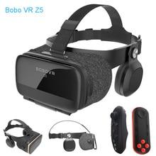 Original BOBOVR Z5 Immersive Virtual Reality Headset Stereo 3D Glasses VR Cardboard Helmet 120 FOV for 4.7-6.2' Smartphone