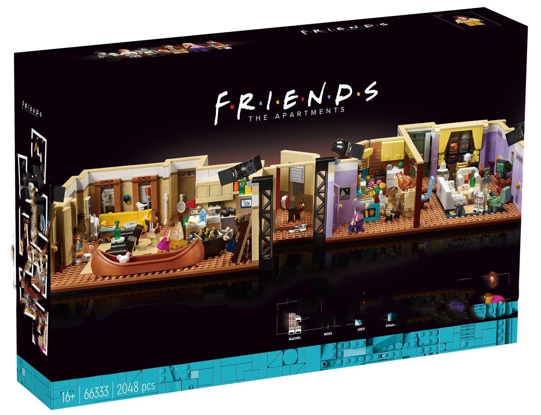 Классическая ТВ-серия 66333 года, американская драма, Моника, друзья, квартирная модель, Perk Cafe, строительные блоки, кирпичи 21319, 10292, игрушка