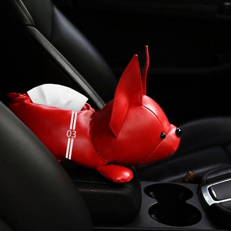 AliExpress - New Creative Cartoon Cute Animal Car Armrest Box Tissue Box Leather Tissue Box Car Interior Products Auto Accessories Home Decor